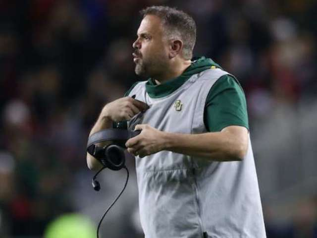 Baylor Coach Matt Rhule Under Scrutiny for Not Benching QB Charlie Brewer After Possible Concussion