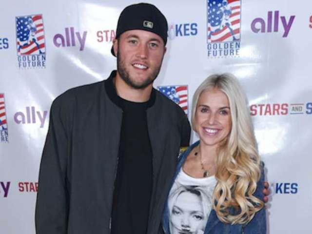 Matthew Stafford and Wife Kelly's 'Tough Day' Photo Draws in Emotional Response From Fans