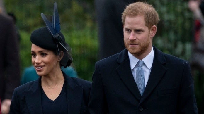 meghan markle prince harry christmas getty images