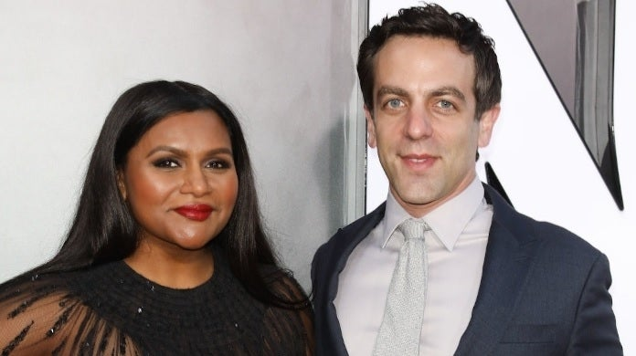 mindy kaling bj novak getty images