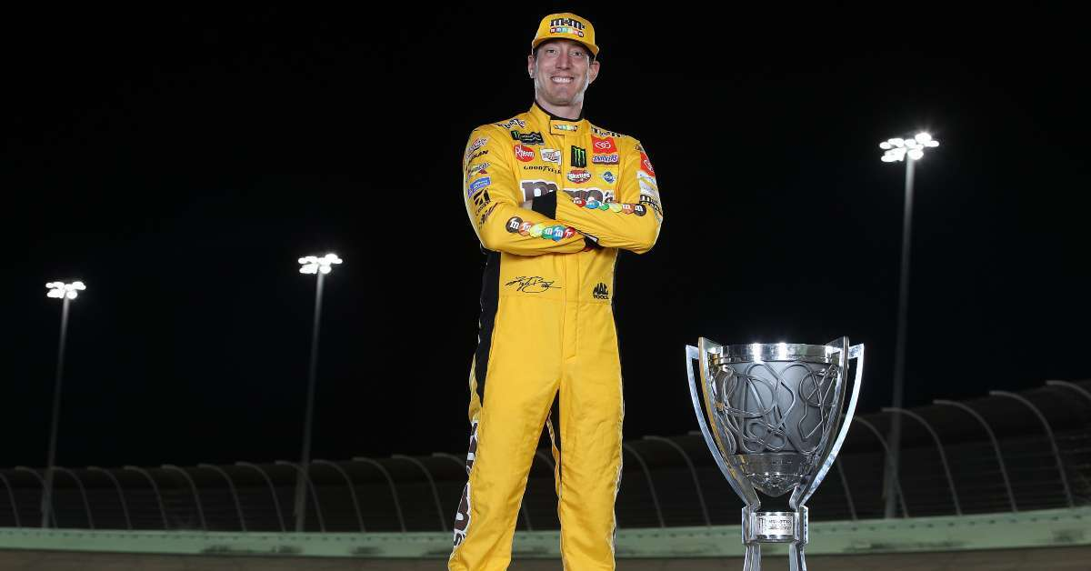 NASCAR Champion Kyle Busch Wins WWE Title on 'Monday Night Raw'