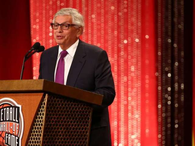 NBA Says Former Commissioner David Stern Still in 'Serious Condition' After Suffering Brain Hemorrhage