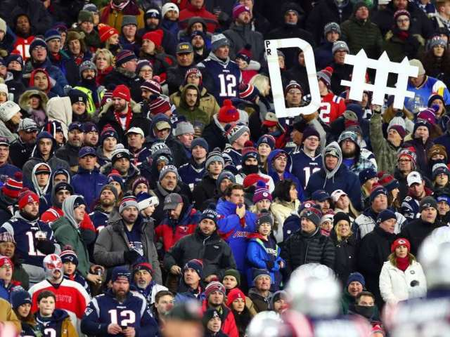 Patriots Fans Fight Each Other After Team's Loss to Chiefs
