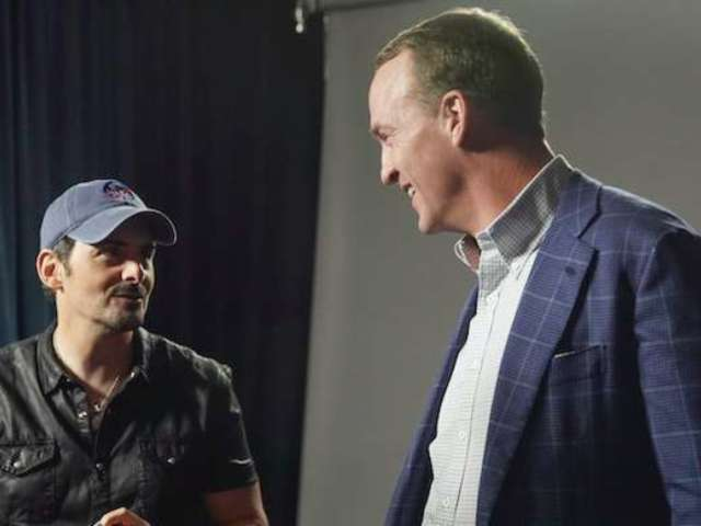 Peyton Manning Returning to TV for Brad Paisley ABC Special Tonight