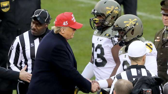 President-Trump-Army-Navy
