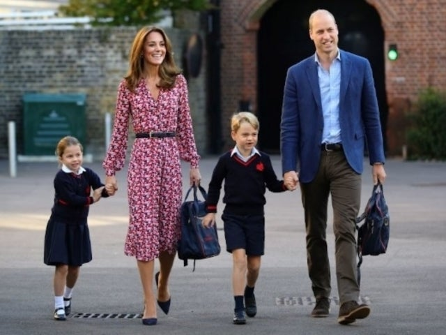 Prince George Joins Queen Elizabeth in Adorable, New Holiday Photos Alongside Prince William and Charles