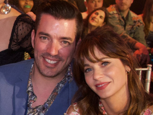'Property Brothers' Star Jonathan Scott Enjoys Filming Girlfriend Zooey Deschanel Backstage at Her Concerts