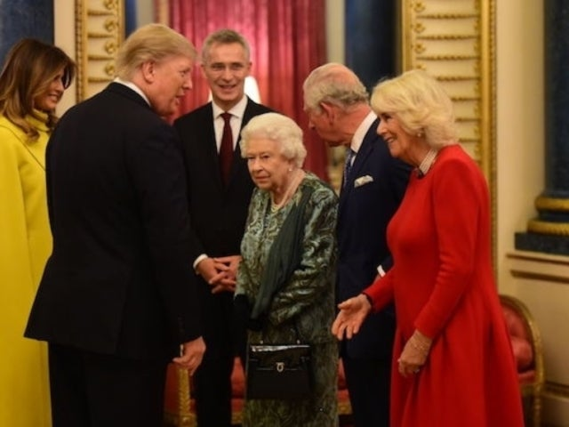 Donald Trump and Melania Get Shrugged off at Buckingham Palace by the Queen's Daughter Princess Anne