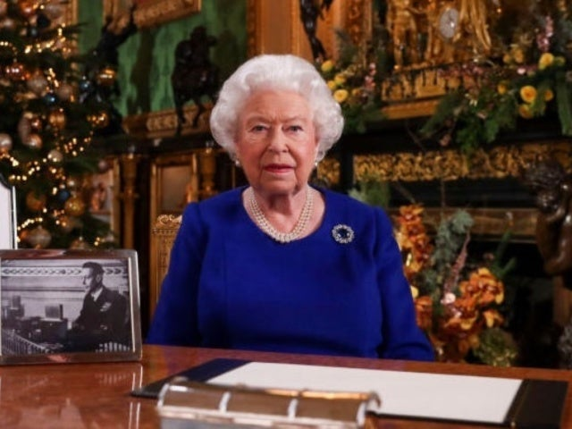 Queen Elizabeth Leaves out Photos of Meghan Markle, Princes Harry and Andrew in Annual Christmas Message