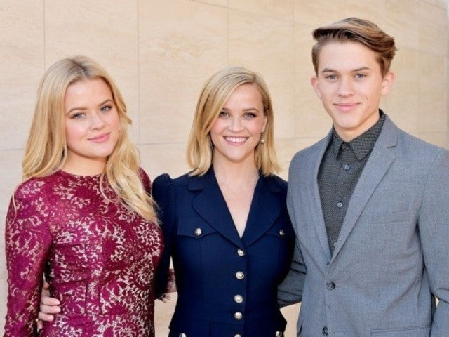 Reese Witherspoon and Her Kids Ava and Deacon Look Like Triplets During Hollywood Outing