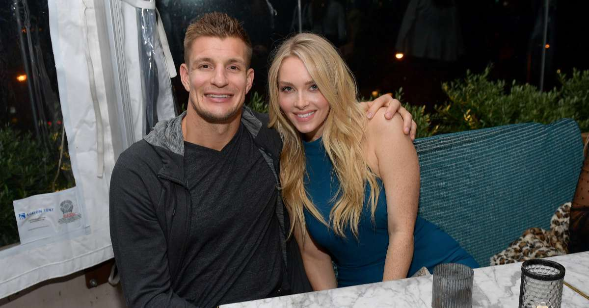 Rob Gronkowski's Girlfriend, Camille Kostek Says 'He's Done' Playing Football