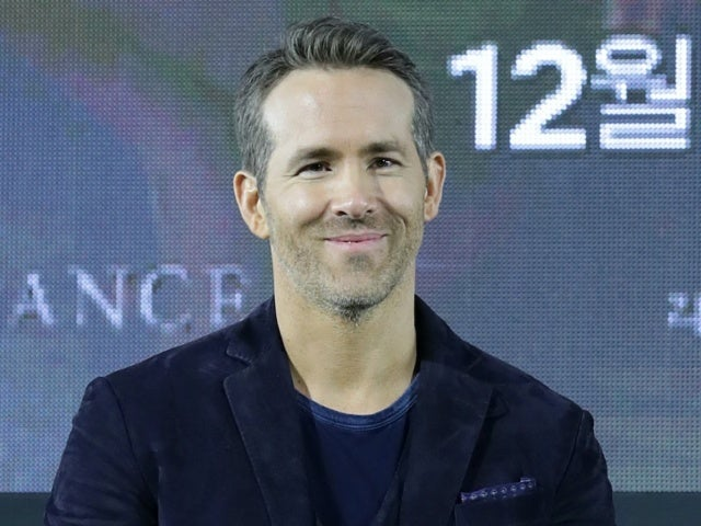 Ryan Reynolds Reveals Photo With Purple Hair, But It's Not What You Think