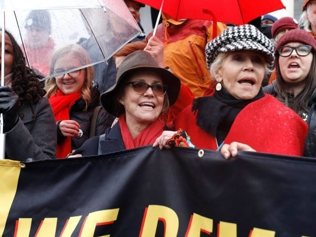 Sally Field Fans Still Applauding Her Getting Arrested During Climate Change Protest