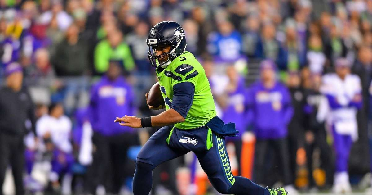 Seahawks Turn Russell Wilson Into 'Baby Yoda' With Hilarious Result