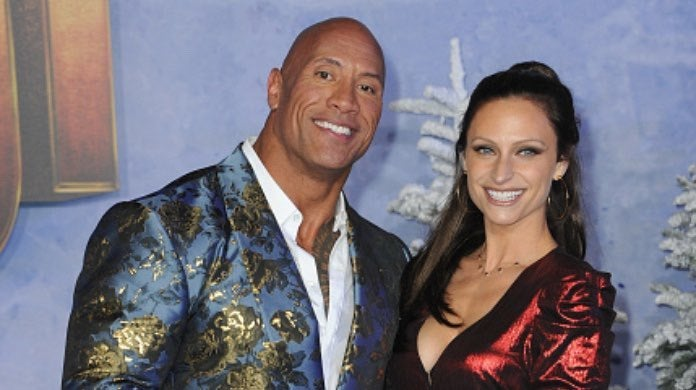 The Rock and Lauren-2