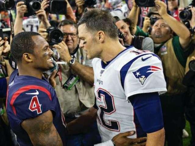 Deshaun Watson Wanted to Beat Tom Brady 'Before He Hangs It Up'
