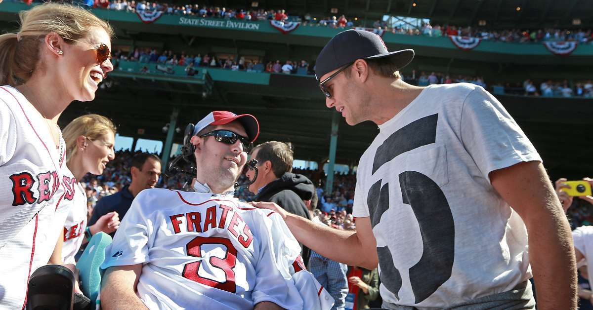 Tom Brady Pays Tribute to Pete Frates Who Championed ALS Ice Bucket Challenge