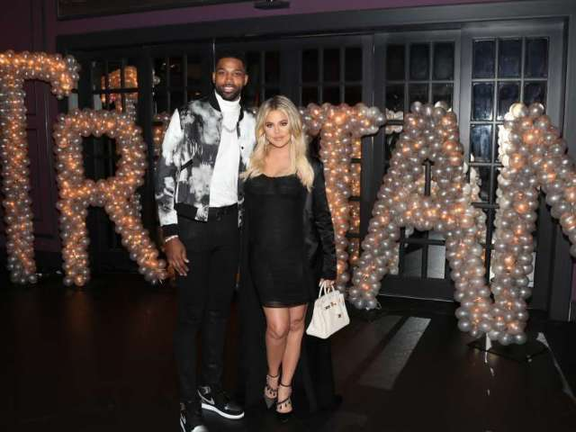 Tristan Thompson Attends Kardashian Annual Christmas Party With Ex Khloe