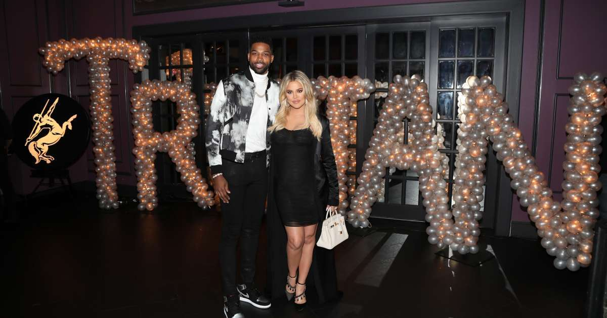 Tristan Thompson Kardahsian Christmas Party Khloe