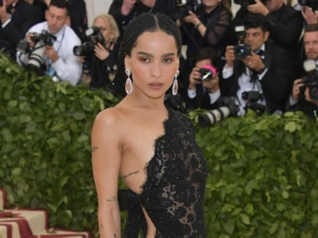 Zoe Kravitz Reveals Nude Photo With Peach in Celebration of Donald Trump's Impeachment