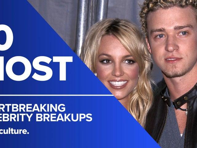 10 Most Heartbreaking Celebrity Break-Ups
