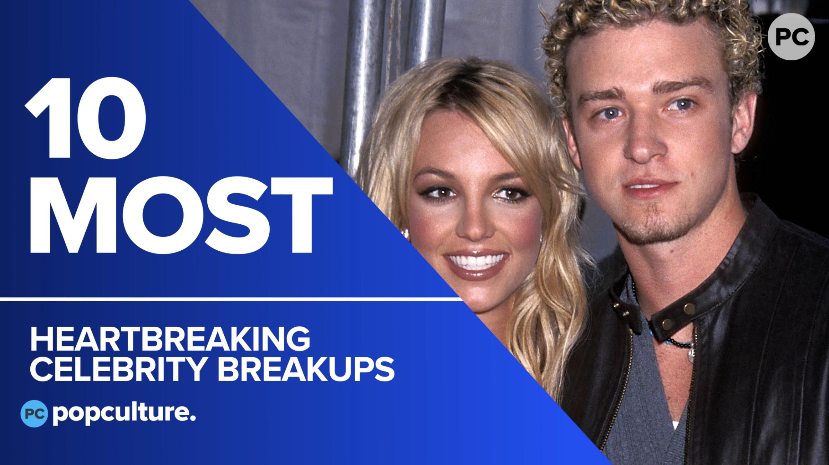 10 Most Heartbreaking Celebrity Break-Ups screen capture