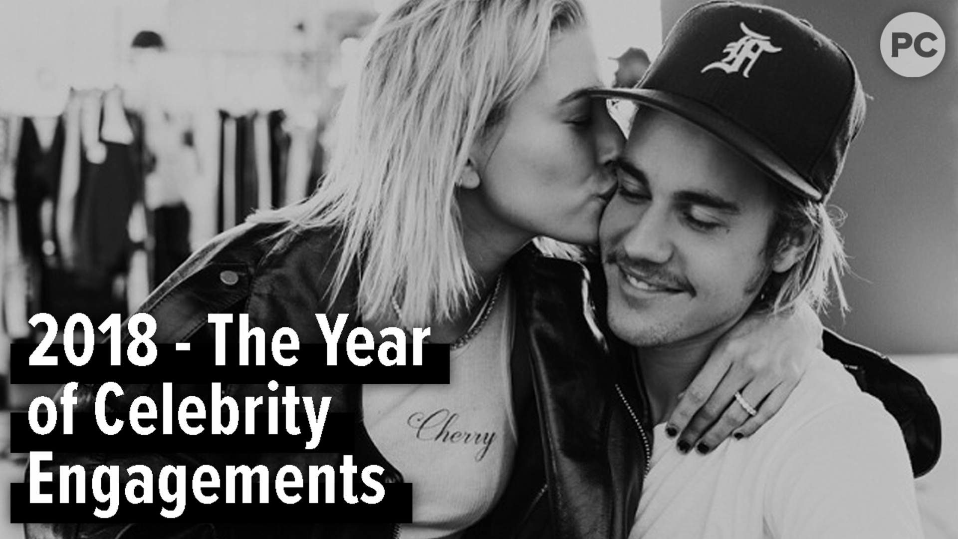 2018 - The Year of Celebrity Engagements screen capture