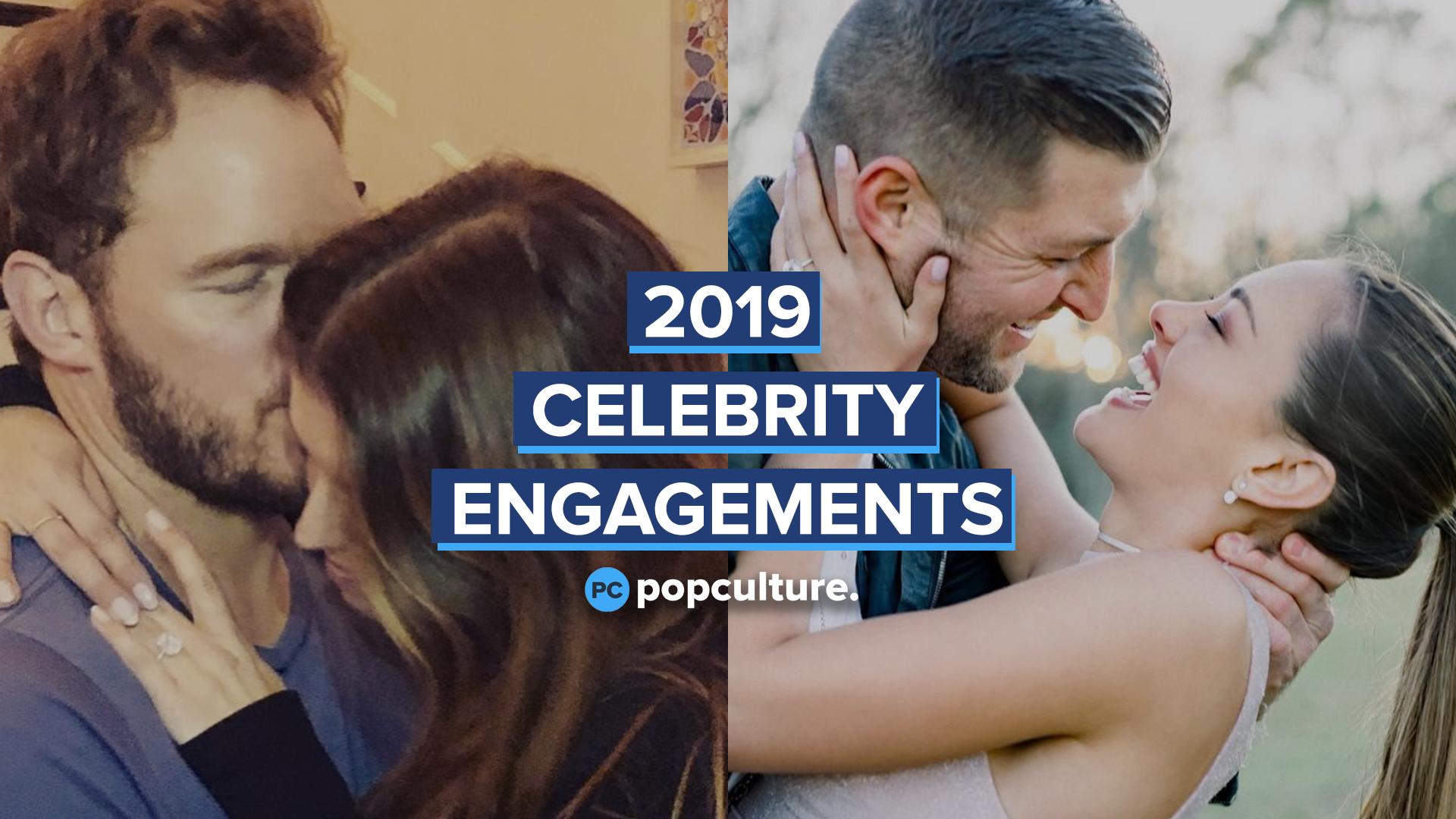 2019 Celebrity Engagements screen capture