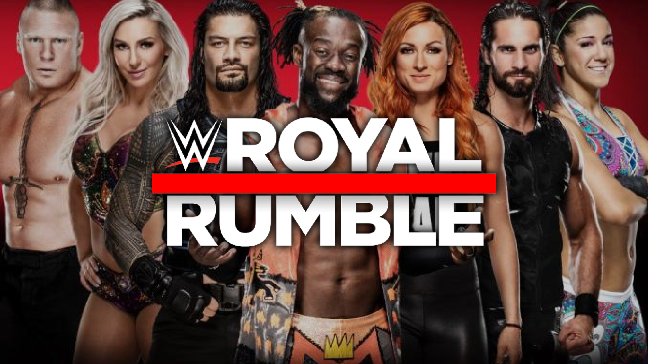 2019 WWE Royal Rumble Preview screen capture