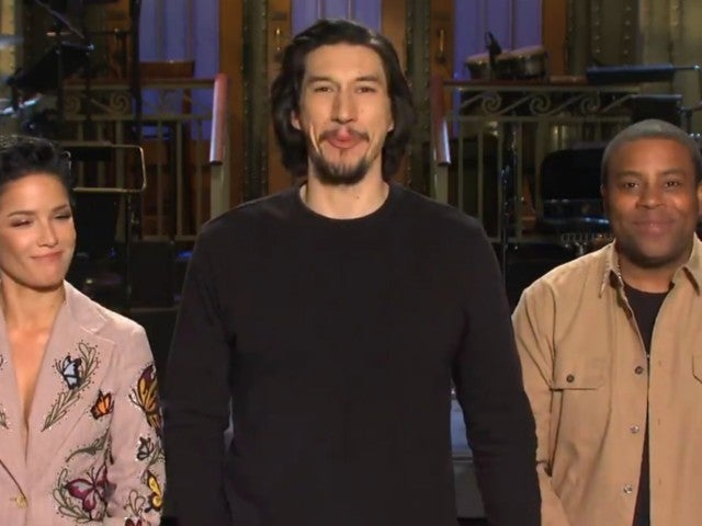 'SNL': Adam Driver and Halsey Kick off 'Wild' 2020 With Fireworks and Nudity in New Promo