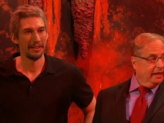 'SNL': Jon Lovitz's Alan Dershowitz Visits Hell in Cold Open With Adam Driver as Jeffrey Epstein