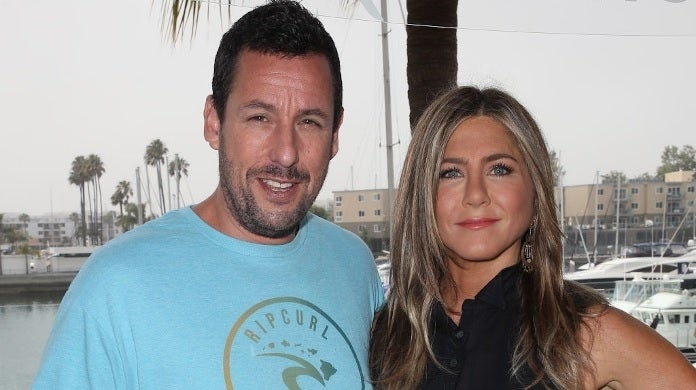adam sandler jennifer aniston getty images