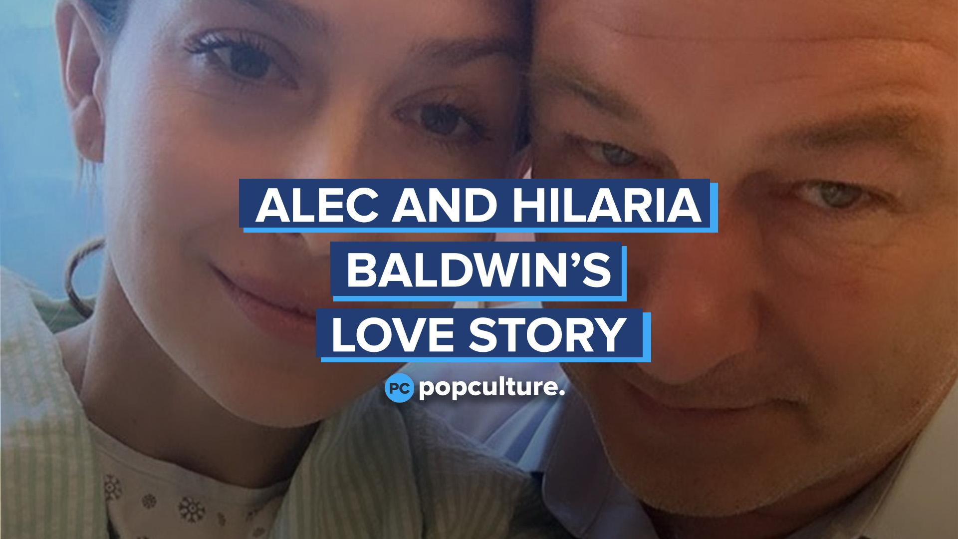 Alec and Hilaria Baldwin's Love Story screen capture