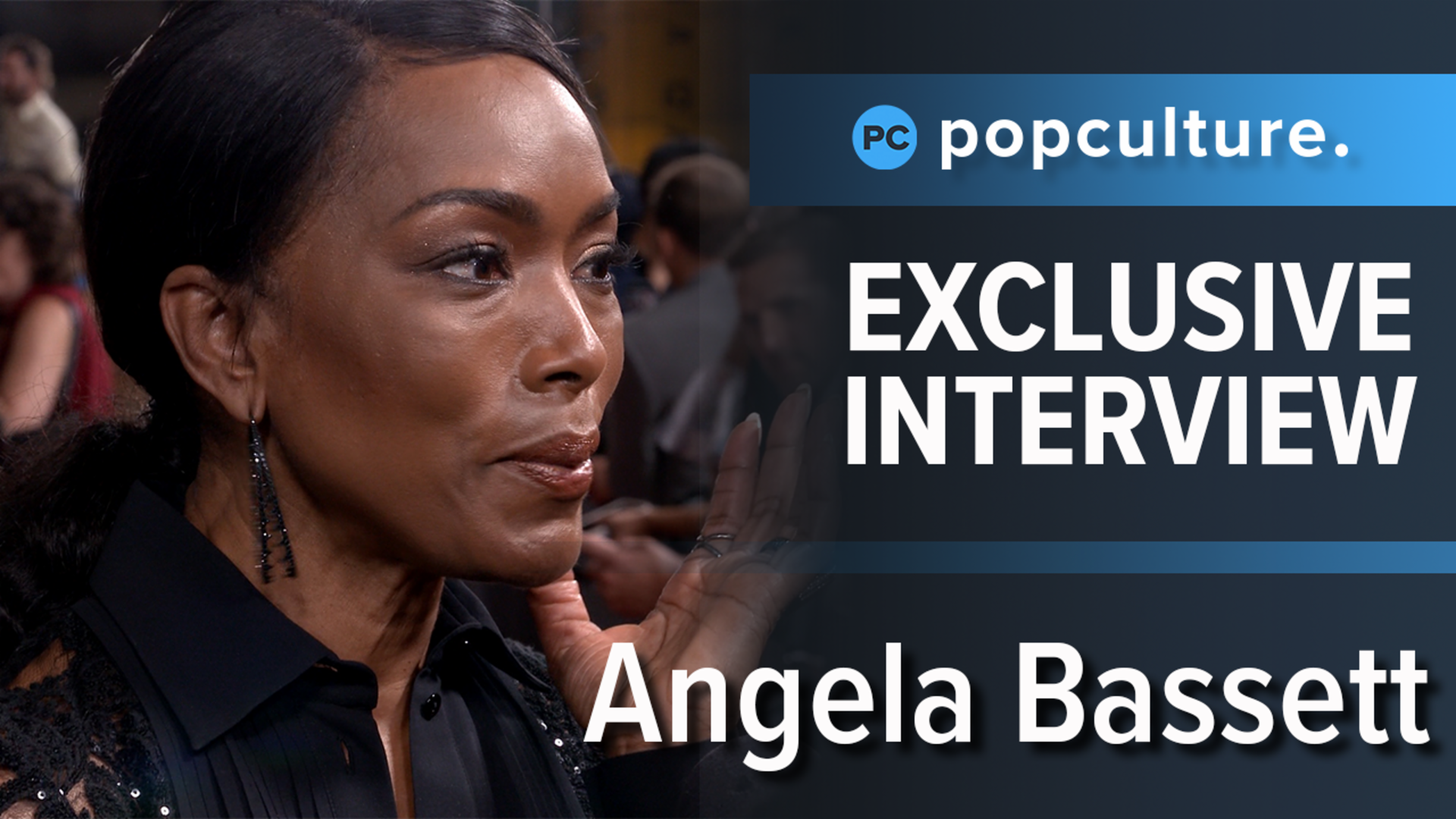 Angela Bassett - Mission: Impossible - Fallout Premiere Interview screen capture