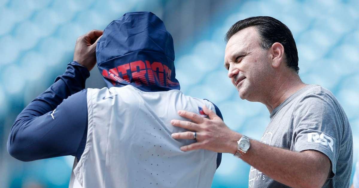 Antonio Brown agent Drew Rosenhaus ends relationship