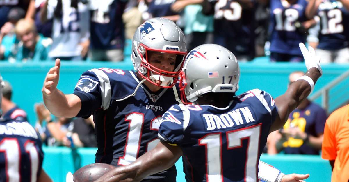 Antonio Brown Tom Brady Reunion NFL return
