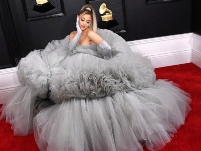 Grammys 2020: Ariana Grande's Poofy Gray Gown Sparks Vibrant Response From Social Media