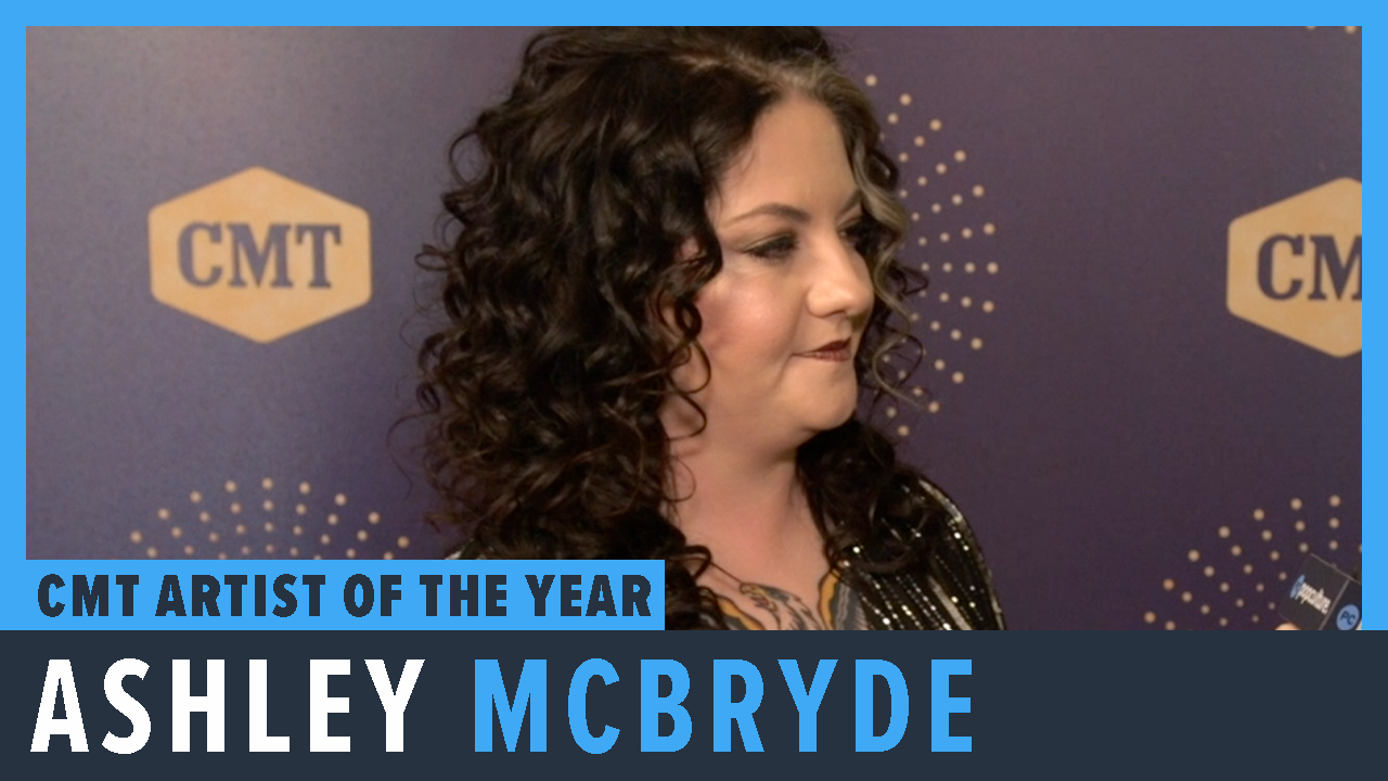Ashley McBryde - 2019 CMT Artist of the Year Awards Exclusive Interview screen capture
