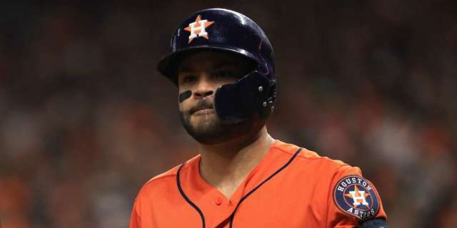 Altuve Astros >> Houston Astros Star Jose Altuve Denies Claim He Wore Buzzer