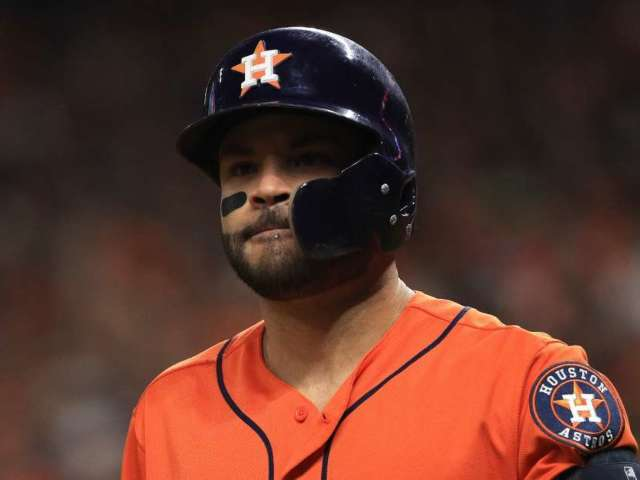 Houston Astros Star Jose Altuve Denies Claim He Wore Buzzer During 2019 Playoff Run Amid Cheating Scandal