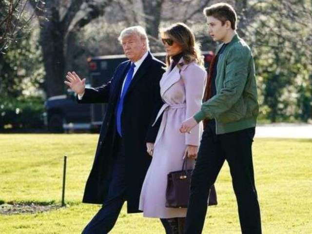 Coronavirus National Emergency: Barron Trump Celebrates 14th Birthday Quarantined at White House