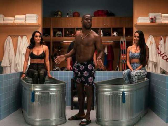 Bella Twins Steal Kevin Hart's Cold Tub in Latest Episode of 'Cold As Balls'