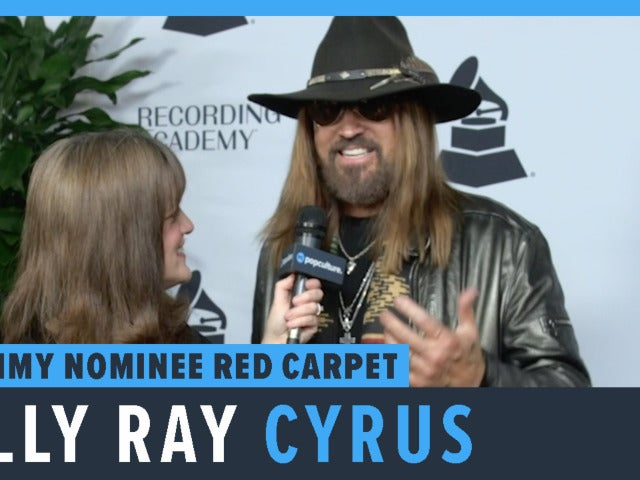 Billy Ray Cyrus - 2019 Grammy Party Nominee Red Carpet Interview