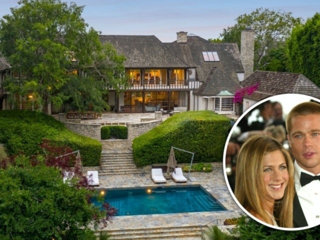 Tour Jennifer Aniston and Brad Pitt's $44.5M Former Newlywed Mansion