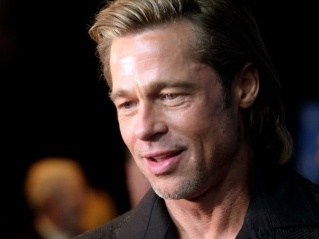 Brad Pitt Reveals If He's Really on Tinder Following Cheeky SAG Award Speech