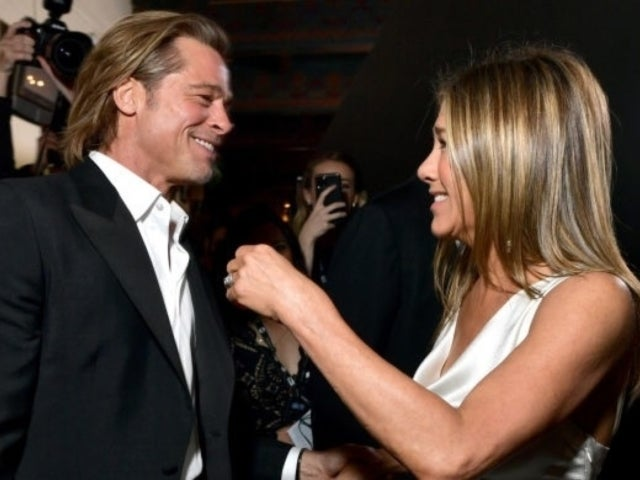 Jennifer Aniston Reportedly 'Appreciates' Ex Brad Pitt's Support Amid SAG Awards Reunion