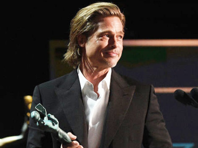 SAG Awards 2020: Brad Pitt Stopped Everything Immediately When He Heard Jennifer Aniston's Name Called for Win
