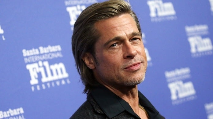 brad pitt santa barbara festival getty images
