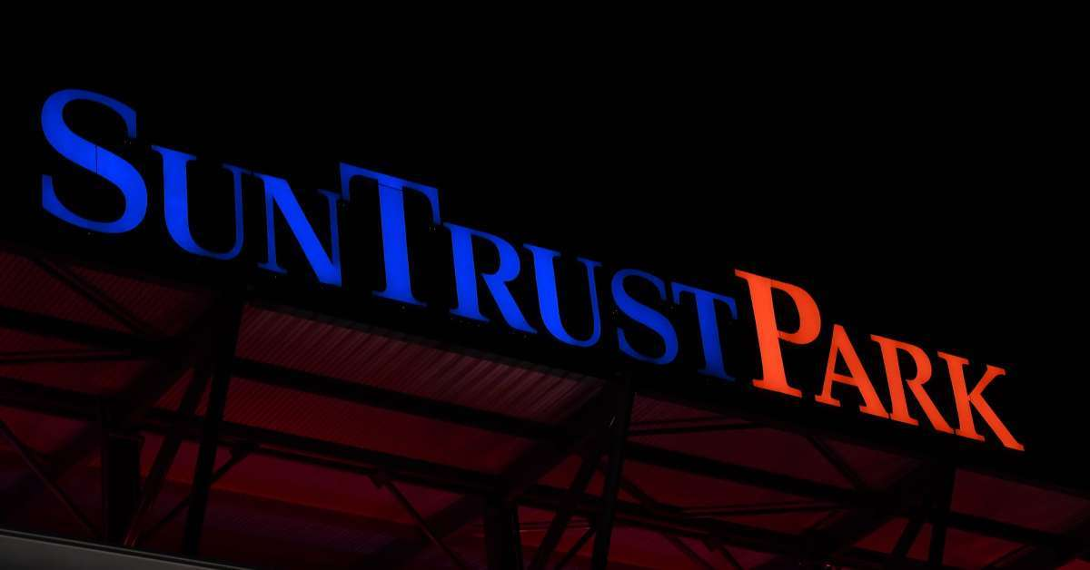 Braves remove SunTrust Park signs fans guess new name