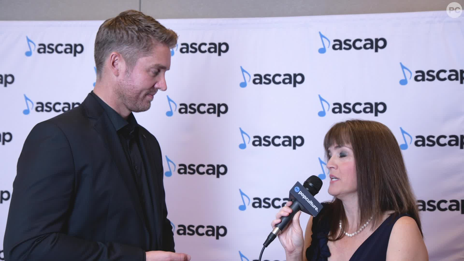 Brett Young - 2019 ASCAP Awards Ceremony screen capture